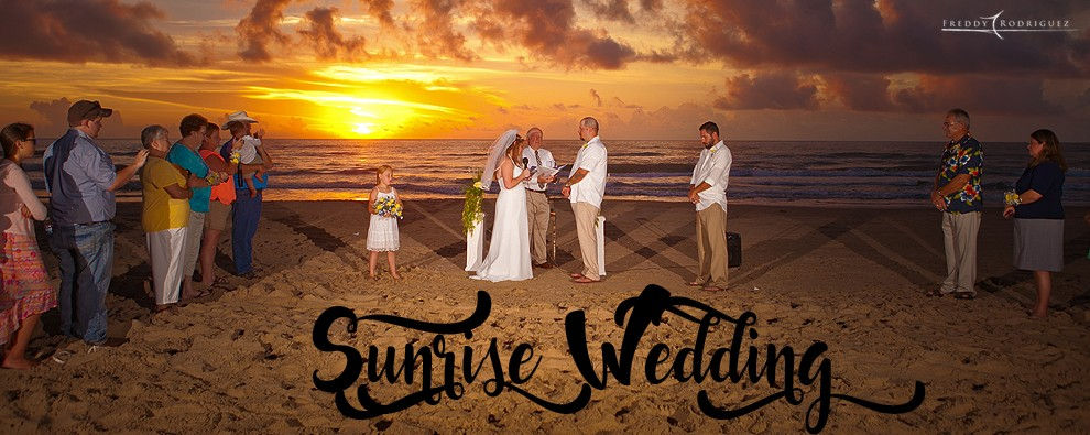 fr sunrise wedding